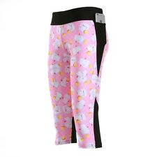 Sexy women's 7 points Legging Pink Cute Cat print high waist legging with pocket