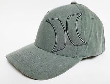 HURLEY RESIST Hat FLEXFIT Olive Green ($28) NEW Cap Surf Skate Ski ONE CLASSIC