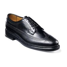 Men's Florsheim Imperial shoes Classic Wing Tip  Leather 17109-78 Black Tumbled