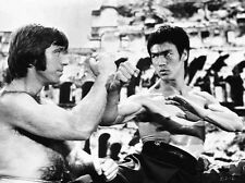 Bruce Lee in Fighting Scene High Quality Photo