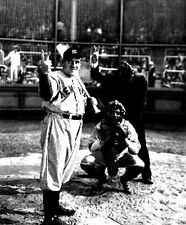 Classic Portrait of Babe Ruth Story Movie Scene High Quality Photo