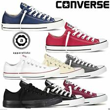 Converse Lo Top Womens All Star Low Tops Chuck Taylor Trainers Shoes