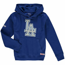 Los Angeles Dodgers Stitches Youth Applique Pullover Hoodie - Royal - MLB