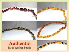 Certified Genuine Natural Baltic Amber Bead Baby Child Teething Necklace, Kids