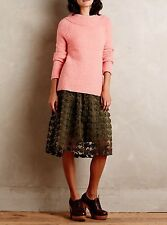 ANTHROPOLOGIE Moth Rose Boucle Mockneck Pullover Sweater NwT S M L XL