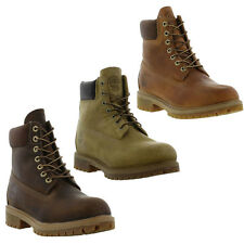 Timberland 6 Inch Classic Leather Mens Waterproof Boots Size UK 8-11