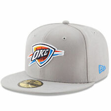 Oklahoma City Thunder New Era State Stare 59FIFTY Fitted Hat - Gray/Blue - NBA