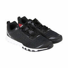 Reebok Everchill Train Mens Black Mesh Athletic Lace Up Training Shoes