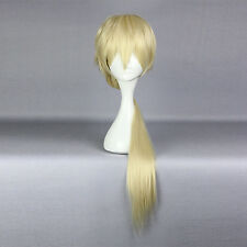 Anime Wig ユリ熊嵐 Life•Sexy Light Gold Long Braid Cosplay Wig with Free Hairnet