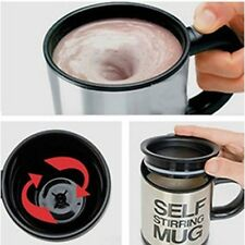 Coffee Cup Stainless Lazy Self Stirring Mug Auto Mixing Tea Office Home Outdoors