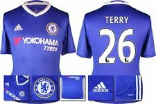 *16 / 17 - ADIDAS ; CHELSEA HOME SHIRT SS / TERRY 26 = SIZE*