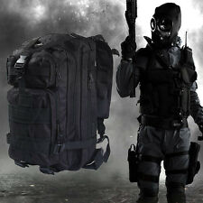 1 X 3P Military Tactical Backpack Oxford Sport Bag for Camping Traveling-Hiking