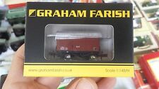N Gauge Graham Farish 377-986 12T Eastern Ventilated Fruit Van BR Bauxite Wagon