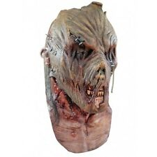 Zombie Scarecrow Full Head and Neck  Latex Adult Fancy Dress Halloween