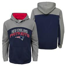 """New England Patriots Youth NFL """"Arc"""" Pullover Hooded Sweatshirt"""