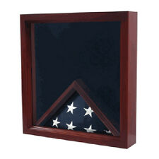 Large Flag and Medal Display Case Can Fit Burial Flag Hand Made By Veterans