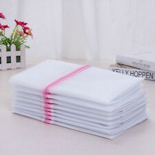 5pcs Care Wash Laundry Bags White Netting Bags Bra Underwear Storage Bags