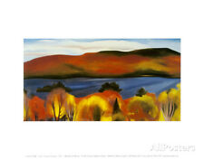 Lake George, Autumn, 1927 Art Print by O'Keeffe, Georgia Wall Art Decor