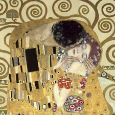 The Kiss (detail) Print on Canvas by Klimt, Gustav