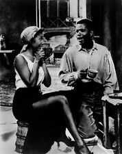 Porgy And Bess Couple Picture in Black and White High Quality Photo