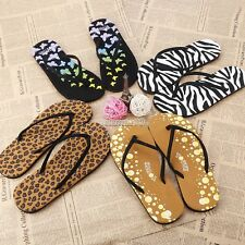 Fashion Women's Casual Summer Beach Flip Flops Thong Flat Sandals FT
