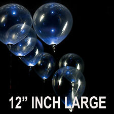 """25 TO 100 12"""" INCH Latex Balloons CLEAR BALOONS LARGE CLEAR BALLOONS"""