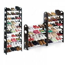 30/50 Pair Shoe Tower Rack Space Saving Storage Organizer Closet Standing BSTY