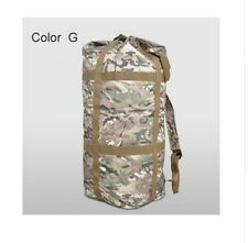Military Duffle Bag Rucksack Backpack Army Camouflage Large Big Camping Travel