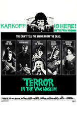 Terror In The Wax Museum - 1973 - Movie Poster