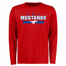 SMU Mustangs Team Strong Long Sleeve T-Shirt - Red - College