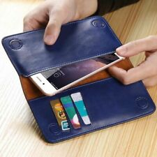 FLOVEME Genuine Leather Wallet Pouch Purse Case Cover For iPhone X 7 8 Plus S001