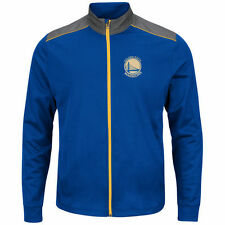 Golden State Warriors Majestic Fast or Last Full-Zip Jacket - Royal - NBA