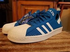 adidas Superstar 80s womans Originals Primeknit Blue / White S75426