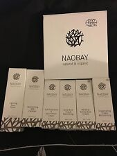 Naobay Skincare. Buy a moisturiser and get Cleanser and Toner Free worth £27.50.
