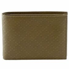 GUCCI 292534 Men's Diamante Leather Bi-fold Wallet