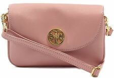 TORY BURCH Robinson Small Crossbody Saffiano Leather Clutch Bag