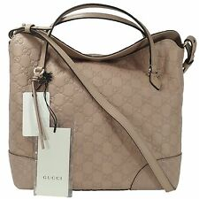 GUCCI 353120 Bree Guccissima Leather Top Handle Bag with Shoulder Strap