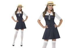 School Girl Costume Ladies Sexy Hen Night Fancy Dress Outfit XS-L
