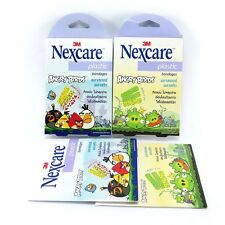 3M Nexcare Plaster Plastic Bandages Angry Birds Set Cute Elastic First aid