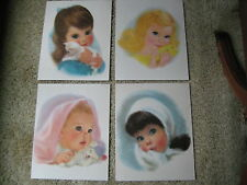 """Vintage Northern Paper Mills Child Prints American Beauties 11""""x 14"""" Portrates"""