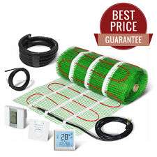 Electric Underfloor Heating Mat Self Adhesive KIT 100W/m2 - LIFETIME GUARANTEE!