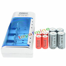 4x D  Ni-MH Rechargeable Battery +4x C  Ni-MH  Rechargeable Battery+Charger
