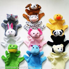 GB Hand Finger Puppets Parent-Child Toys Baby Educational Toy Animal Plush Toys