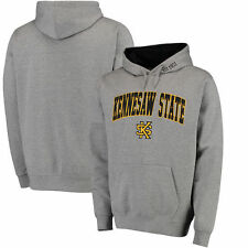 Kennesaw State Owls Arch & Logo Pullover Hoodie - Gray - College