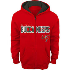 Tampa Bay Buccaneers Toddler Fan Gear Stated Full Zip Hoodie - Red - NFL