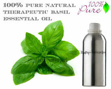 Basil Aromatherapy  5 ml - 500 ml Essential Oil 100% Pure Natural Therapeutic