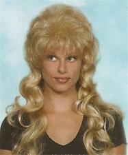 Long Blond Wavy Wig w/ Bangs Auburn/Brown/Black Wigs