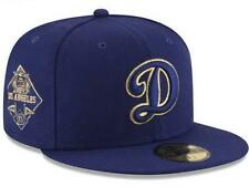 Official Los Angeles Dodgers MLB Team on Metallic New Era 59FIFTY Fitted Hat