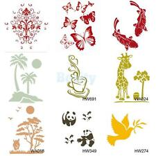 Wall Painting Stencil Template Pattern Plastic Mural Home Improvement Decor