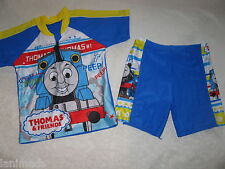 BNWOT- THOMAS the TANK SET Boy Bathers Swimming Suit Rash Vest Shorts Top sz5-6